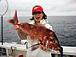 釣った魚と写る自分が大好き!