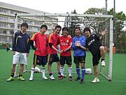 新宿で個人参加型無料フットサル