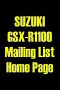 GSX-R1100 Mailing List @ MIXI