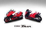 川田のバイク(TMAX T-MAX)