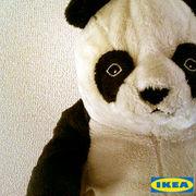 IKEAのぬいぐるみ。