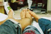足もと写真