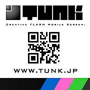 携帯用待受けFLASH|TUNK