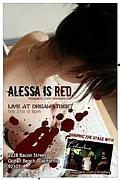 ALESSA IS RED.