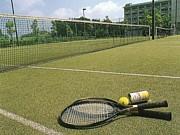 大原山公園でテニス練習・平日