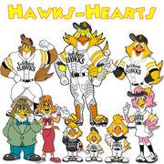 Hawks-Hearts mixi版