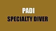 PADI SPECIALTY DIVER