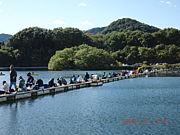 鮎川湖ワカサギ愛好会