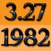 1982年3月27日生まれ