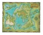 ゲームの中の世界地図