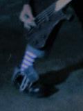 【白黒】新弥の靴下【ボーダー】