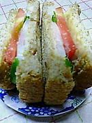 みんな参加 手作りサンドイッチ