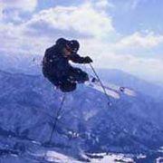 地球環境に厳しくスキーに行く