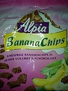 Alpia バナナチップチョコ