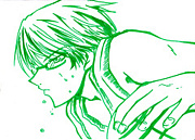 蛍光ペンの緑が好き!