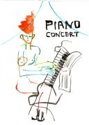 piano concert on,,,,,
