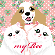 DogArtmyRee☆犬猫似顔絵