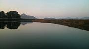 野池、川、湖、ダムでバス釣り