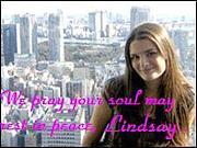 リンゼイさん  Lindsay H.追悼