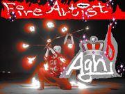 〜 Agni 〜   Fire Artist