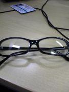 だてメガネで、目を悪くした人