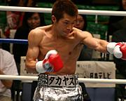 プロボクサー 小林タカヤス