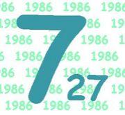 1986年7月27日生誕