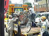 京都市の自転車撤去を考える