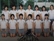 明善高校硬式テニス部。