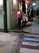 新宿東口メガネ屋ラップ