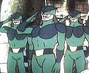 アニメヒーロー物の戦闘員