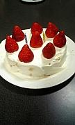ケーキ大好き(^^)
