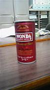 WONDA党(缶コーヒー)