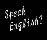 Speak English?