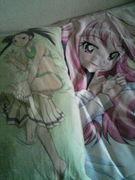抱き枕×添い寝シーツ