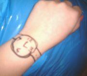 マジックで腕時計