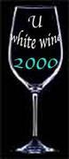 U 2000 白ワイン♪