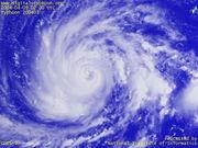 台風の状況