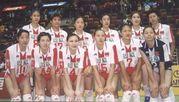 中国女子バレー