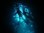 青の洞窟探検!