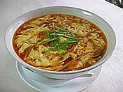 栄林の酸辣(すーらー)湯麺
