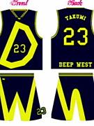 Deep WEST (D.W.)バスケ