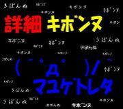 詳細キボンヌ隊(´_ゝ`)3