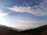 雲がある空