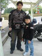 親子でバイクに乗ろう!!!