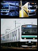 209系・70ー000系・E501系の会