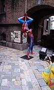 スパイダーマンと撮影&画像集