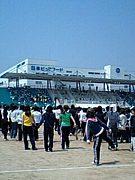 2008年 武庫女 大食応援団