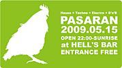 PASARAN @HELL'S BAR 05/15(Fri)
