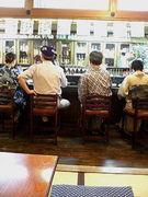 奥州市☆小料理佐吉のカウンター